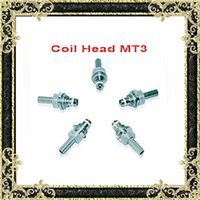 Wholesale coil adapter for sale – best EVOD MT3 coils H2 Clearomizer Coil Heating Core atomizer coil ohm Coil Head EVOD Protank ego adapter MT3 e cig coils heads