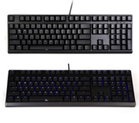 Wholesale Cherry Mx Switch Black - Wholesale-DHL Ducky DK2108S Zero Mechanical Keyboard Gaming Blue Backlight Backlit Cherry MX Black Blue Red Brown Switches