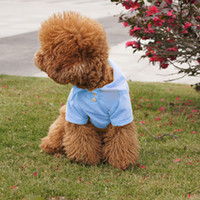 Pet Doggy Dog Apparel Polo Puppy cool T-shirts Vêtements Taille XS S M L XL livraison gratuite