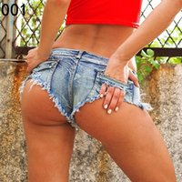 Shorts Frauen High Cut Bikini Kurze Jeans Sexy Low Rise Taille Denim Mini Hot Shorts Club Tragen 2017