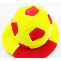 Wholesale Hat World Cup - Wholesale-Brazil 2015 World Cup Cheer the Props Commemorate Football Fans Carnival Cap Ox Horn Hat