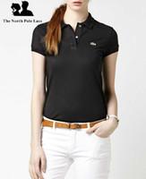 Wholesale Woman White Plain Shirt - 2016 New Summer Fashion High Quality Hot Sale Multicolor Cotton POLO Shirt Men Women Plain Color Short Sleeve Casual Sports T-shirt Jersey