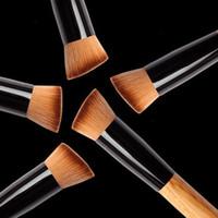 Wholesale Hair Functions - free shipping DHL Powder Brush Wooden Handle Multi-Function Blush5 00pcs Brush Mask Brush Foundation Makeup Tool Hot Sale