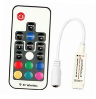 Riduttore LED RGB DC5V-24V 12A 17keys mini Rivelatore senza fili RF per 5050 3528 RGB Flessibile Strip Light