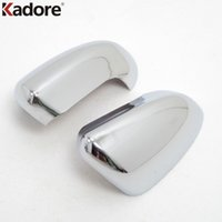 Wholesale Nissan Mirrors - ABS Chrome Side Door Rearview Mirror Cover Trim Car Styling For Nissan Qashqai 2007 2008 2009 2010 2011 2012 2013