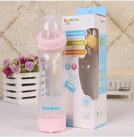 Wholesale bottle feeding infants online - 280ml Baby Feeding Bottle Small Gourd shaped nursing bottle Feeding Infant Water Cup baby PP Nursing Feeding Bottle KKA3534