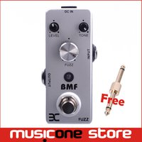 Wholesale Ex Micro - ENO Music EX Micro BMF Fuzz Guitar Effect Pedal Mini Compact Size True Bypass Free connector MU0133