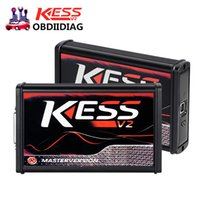 Wholesale Ecu Master - New RED KESS V2 V5.017 No Tokens ECU Chip Tuning EU Master Online KESS V2 5.017 Manager Tuning Kit For Car and Truck