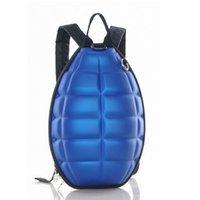 Wholesale Grenade Backpacks - Wholesale-Creative hand grenade childred toddler school backpacks Turtle shell girl boy backpack
