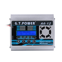 Caricabatteria caricabatterie NiCd NiMd LiPo Brand New G.T.POWER A6-12 200W LiFe NiCd