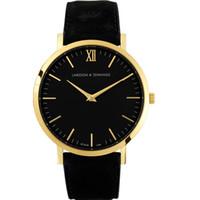Wholesale Luxury Watch Couples - Larsson Jennings watch Fashion leisur quartz watch men watches women watch 40 mm Couple watches quality belt luxury brand watches