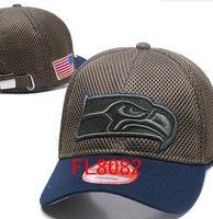 Wholesale Camo Snapbacks - hot sale Seattle hats Men USA FLAG camo snapbacks Cool Women Sport Adjustable Caps Hats snapbacks Accept Drop ship
