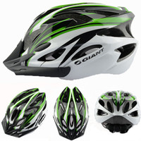 Wholesale Helmet Cycling Green - Wholesale-11 styles Giant MTB Bike Cycling Helmet Bicicleta Capacete Casco Ciclismo Bike Helmet Para Bicicleta Ultralight Bicycle Helmet