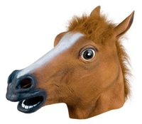 Wholesale Horsehead Masks - Christmas Horsehead Horsehead people headgear mask Halloween mask COS