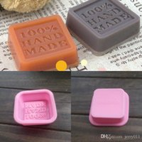Wholesale Silicone Silicon Soap Molds - Hot Sale Practical Diy Silicone Silicon Soap Molds Making Mould Rectangle Stand Hand Made Drop Shipping HG-1349