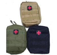 Wholesale Outdoor Medical Kits - Empty Bag for Emergency Kits Tactical Medical First Aid Kit Waist Pack Outdoor Camping Hiking Travel Tactical Molle Pouch Mini