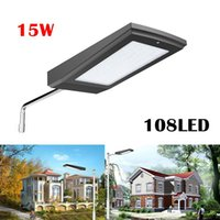 Wholesale Power Radars - 108LEDs Solar Power Radar Motion Sensor Wall Light Outdoor Waterproof Energy Saving Street Yard Path Home Garden Security Lamp