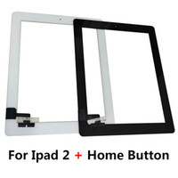 Wholesale ipad2 touch screen - Tablet Touch Screen for Ipad 2 A1395 A1396 A1397 Replacement Touch Screen Digitizer Glass with Home Button
