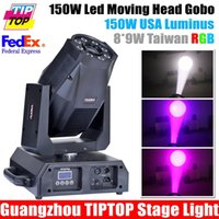 Al por mayor-TIPTOP 320W LED Cabeza móvil Spot Light Beam EE.UU. LumiEngin 150W Blanco Color de 8 * 9W Taiwan Tianxin RGB LED DMX 16/31 / 34CH 110V-240V