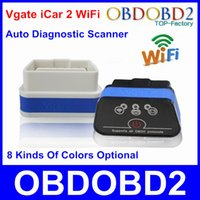Mini Vgate iCar 2 WiFi ELM327 Scanner Code Leser Vgate iCar2 WiFi ELM 327 Auto Diagnostic Tool unterstützt Android iPhone IOS PC