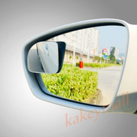 Wholesale Back View Mirror - 2X Car Rear View Convex Rearview Rear Side Back Blind Spot Mirror Auxiliary Wide Angle Style Auto Accessories