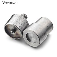Wholesale Snaps Machine - VOCHENG NOOSA Metal Grommet Machine Hand Press Eyelets Spot Snap Button Mould Tool Fit 18mm&12mm Button (NN-236)