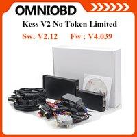 Wholesale New Kess V2 Obd2 - New Arrival KESS V2.12 Firmware V4.036 Manager Tuning Kit Master Version No Token Limited KESS V2 OBD2 Manager Tunning Kit