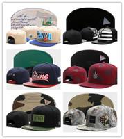 Wholesale pink swag hats for sale - Group buy Hot Swag brand Cayler Sons brown Leather Snapback hip hop sport cap baseball hat for men women bones snapbacks bone gorras high quality