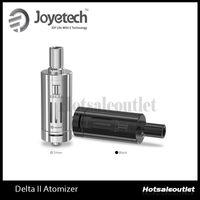 ingrosso vaporizzatore di joyetech-Nuovo Joyetech DeltaII Atomizzatore Delta II 3,5 ml Capacità 510 Filetto E Sigaretta Vaporizzatore Flusso d'aria Regolabile E Cig Clearomzier