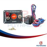 PQY STORE-Racing Car Electronics Switch Kit Engine Start Panel pulsante di commutazione con accessorio PQY-QT311