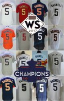 Wholesale Hall Fame - 2017 WS Champions Strong Patch Houston #5 Jeff Bagwell Hall Of Fame gray white Road Astrodome pinstripe orange Red throwback Stitched Jersey