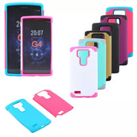 Wholesale Nexus Matte - Dual layer Robot SHOCKPROOF RUGGED HYBRID RUBBER MATTE HARD CASE COVER FOR LG G3 G4 Nexus 5 armor hybrid impact cases
