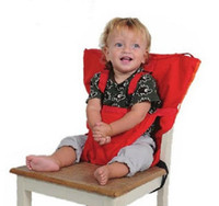 Wholesale infants high chair resale online - Chair Sack Seat New Portable Baby Chair Infant Seat Dining Lunch Baby Feeding Chair Seat Safety Belt Feeding High Chair Baby Chair Sack Seat