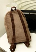 Wholesale Uk Flag Bag Man - Wholesale-Mens Womens US UK Flag Backpacks 2015 New Fashion Unisex PU Packsack Vintage Travel Shoulder Bag School Satchel Bags