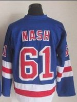 Wholesale Rangers Rick Nash Blue Home Hockey Jersey New Season Hockey jerseys Buy Various Hockey Jersey