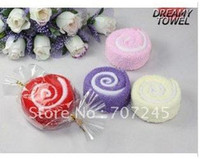 Wholesale Towel Cake Heart Shape - Hot sell!!Heart shape cake towels  washcloth Wholesale creative wedding gift Birthday gift+free shipping order<$15 no tracking