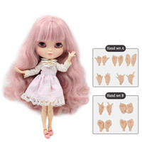 Bambola Bobble Head Doll Azone Joint Body Icy Includi la mano Set A B Like Blyth Bjd 11 .5 pollici Dolls For Girls