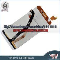 Wholesale Jiayu G4 Lcd Screen - Wholesale-Black Jiayu G4 LCD Display+Touch Screen Digitizer Replacement Assemble For JIAYU G4 MTK6589 Touch Pane+Free Shipping