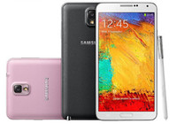 galaxy note quad core al por mayor-Reacondicionado 100% original Samsung Galaxy Note 3 N900P N900A N900T N900V N9005 Teléfono desbloqueado Quad Core RAM 3GB ROM 32GB 4G-LTE Quad Core