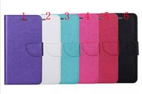 Wholesale Hot Selling Iphone5 Cases - Hot Selling Flip Wallet Card Slot Magnetic Stand Cross Pattern Leather Cover Case for iphone5 5s 6 6s plus