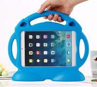 Wholesale Ipad Train Case - Lovely Cute 3D Cartoon Thomas Train Stand Kids Shockproof EVA foam Case Cover for iPad 2 3 for ipad mini1 ipad air1 2