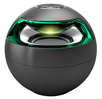 Wholesale active loudspeakers - Free DHL AJ-69 Mini Active Bluetooth Stereo Speakers mini speaker bluetooth speaker With Micphone LED Light loudspeaker surround sound