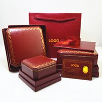 Wholesale Handmade Papers - Branded Top grade famous brand bracelet and ring and necklace original jewelry box free shipping PS4410