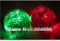 Wholesale Crystal Puzzle Green Apple - Wholesale-Hot selling! 3D Shining Puzzle Crystal Decoration Red Green Apple Puzzle IQ Gadget Hobby Toy Gift 3D,Free shipping,1 pcs