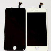 Wholesale iphone original frame online - Original LCD Display Touch Digitizer Complete Screen with Frame Full Assembly Replacement for Grade A iPhone