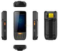 лазерный андроид оптовых-Оптовая продажа-2017 1D 2D ручной терминал лазерный Android 6.0 сканер штрих-кодов PAD Data collector Reader 4G Wifi прочный водонепроницаемый NFC 4000mAH