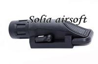 Wholesale Tactical Flashlight Picatinny Rail - New WM Short Version Tactical Light Flashlight Fit 20mm Weaver Picatinny Rail Spotlight