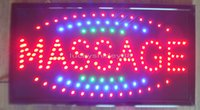 Wholesale Indoor Led Neon Lights - 2015 New arriving super brightly customized led light signs led signs MASSAGE neon led MASSAGE signs MASSAGE led indoor