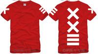 Wholesale Hba Red Shirt - Japanese men and women XXlll street hip-hop PYREX 23   HBA Show Luo Tide brand short sleeve t-shirt
