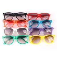 Wholesale Eyeglasses Frame Kids - Plastic Frame Baby Kids Sunglasses Eyeglasses Infants Spetacle Boy Girls Goggles Drop Shipping Free Shipping